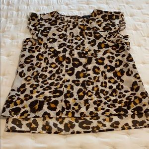 The Limited Leopard Blouse Medium